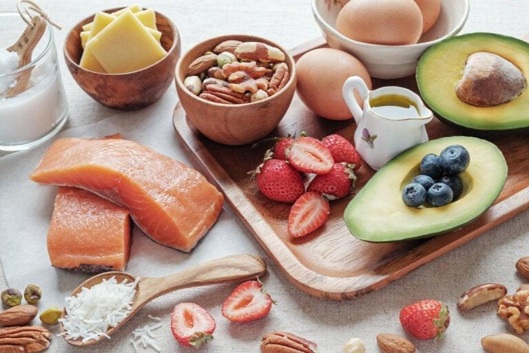 Lista de alimentos permitidos en la dieta cetogénica