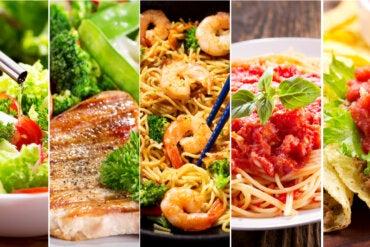 Grupos de alimentos según su función