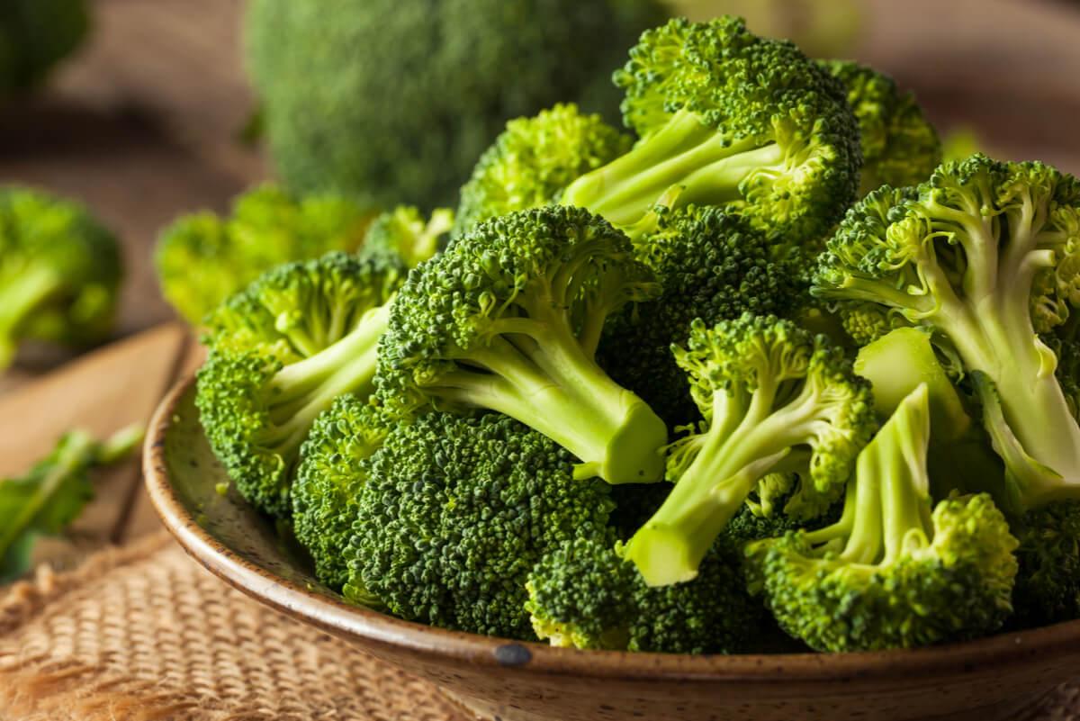 Brócoli para limpiar el colon
