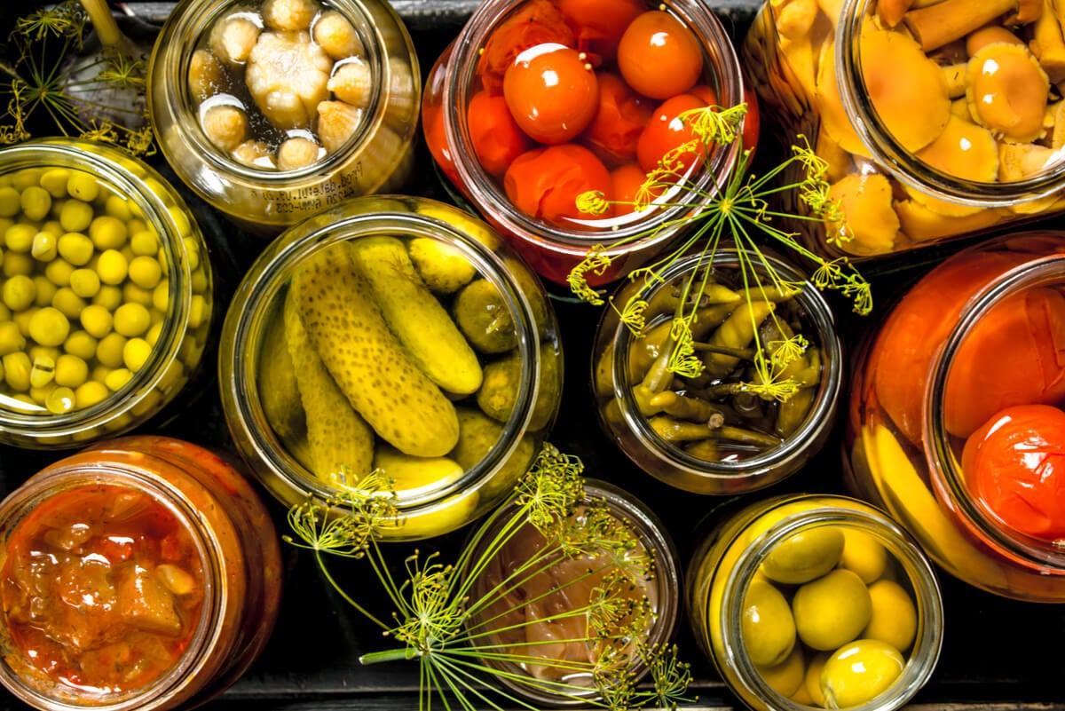 Conservas de vegetales
