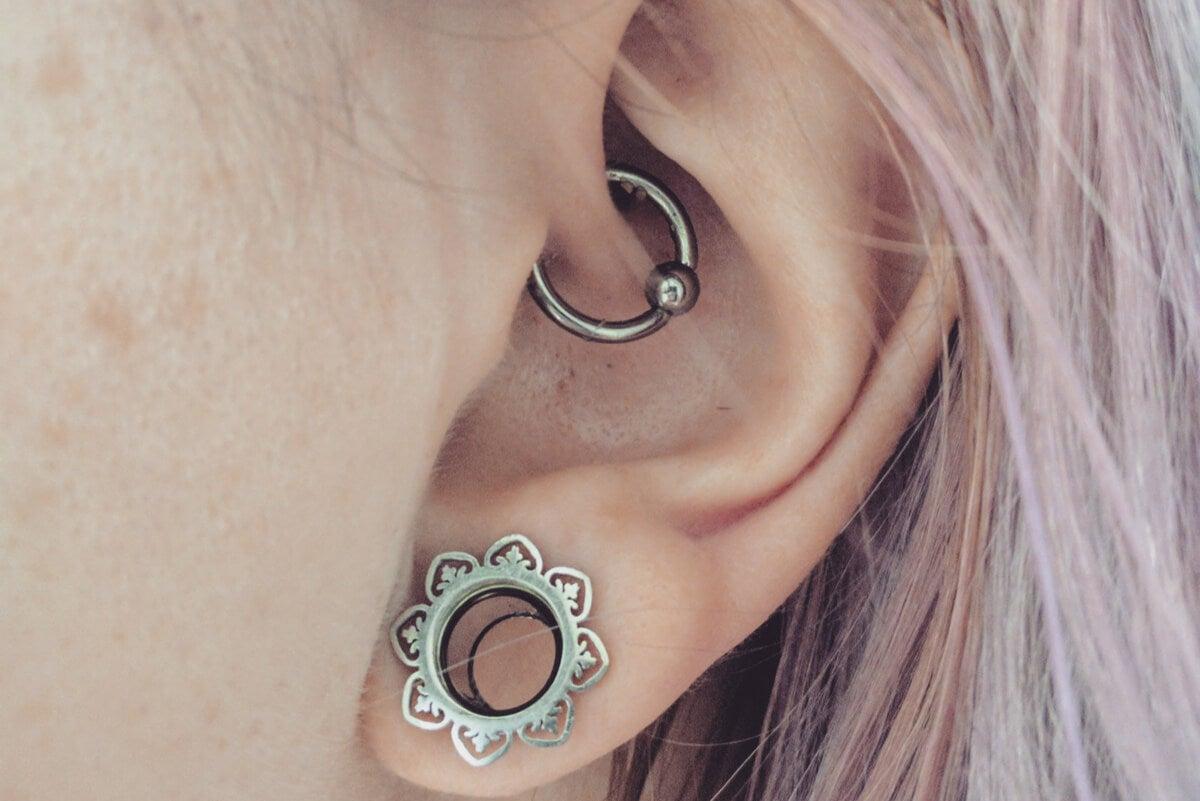Daith piercing.