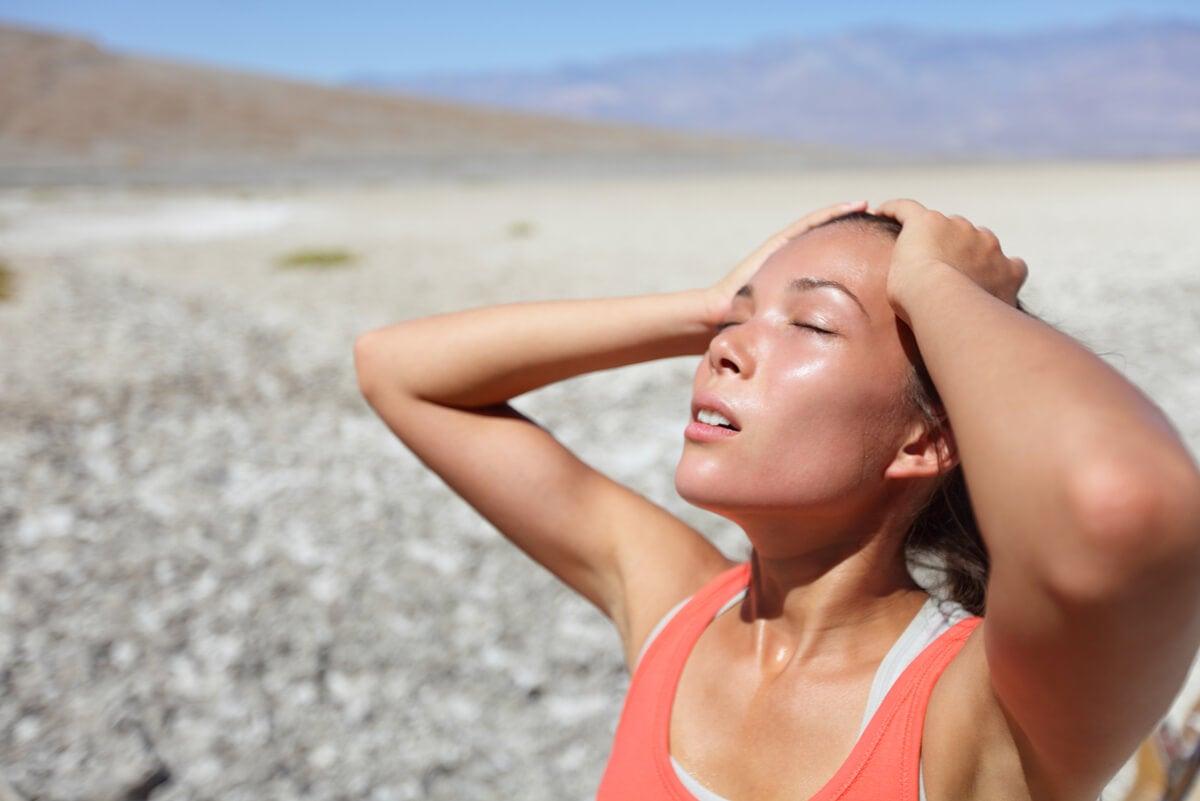 Peligro de deshidratación en verano