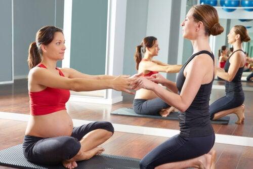 ¿Qué ejercicio físico puede hacer una mujer embarazada?