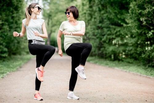 Ejercicios para la bursitis de cadera