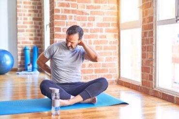 Ejercicios para aliviar el dolor de la hernia discal cervical
