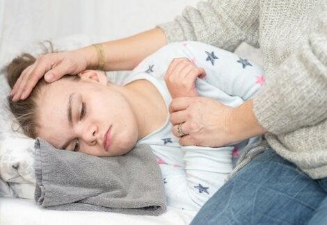 Epilepsia en un joven que toma lamotrigina.