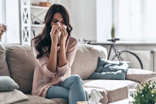 Cómo cuidar el resfriado común en casa