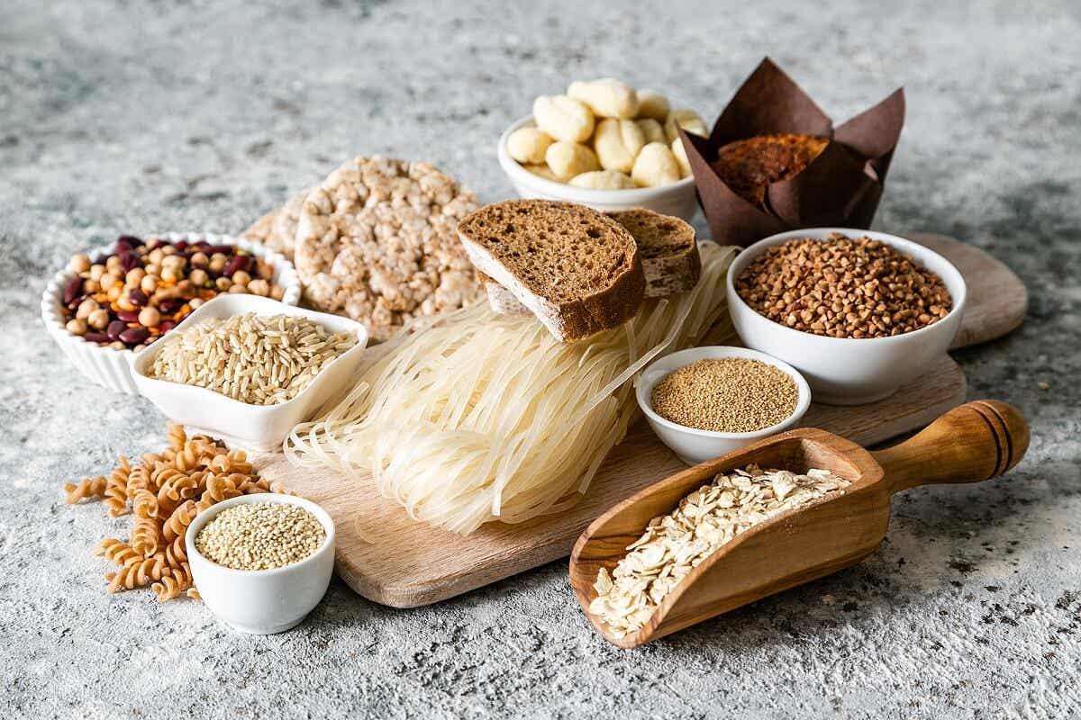 Productos con gluten.
