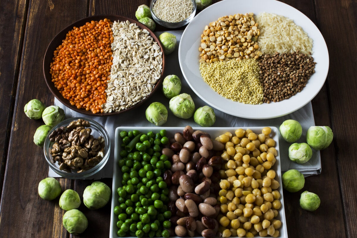 Proteína vegetal en los alimentos