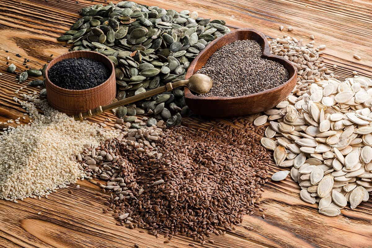Las semillas son alimentos que ayudan a cuidar el hígado