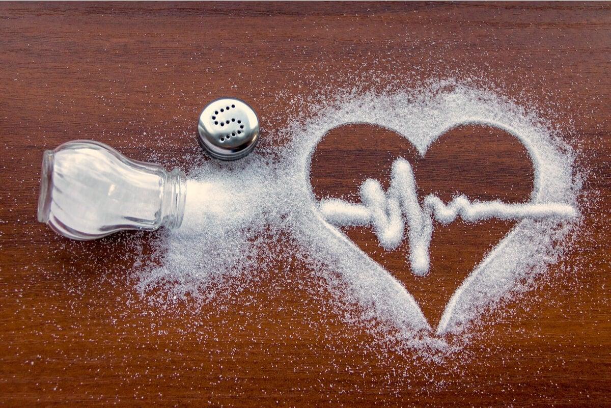Consumo de sal y corazón.