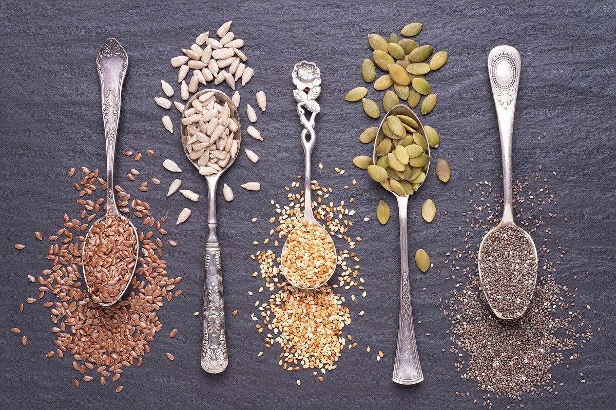 ¿Por qué las semillas son buenas para la salud?