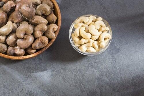 Anacardos para reducir el colesterol