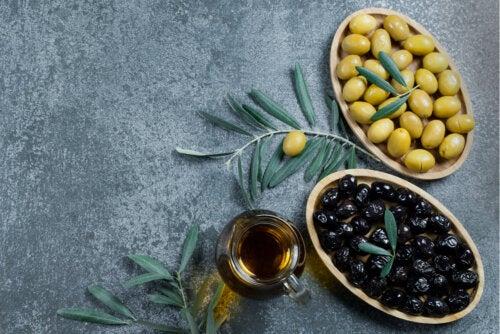 Aceitunas verdes y negras, ¿cuáles son mejores para la salud?