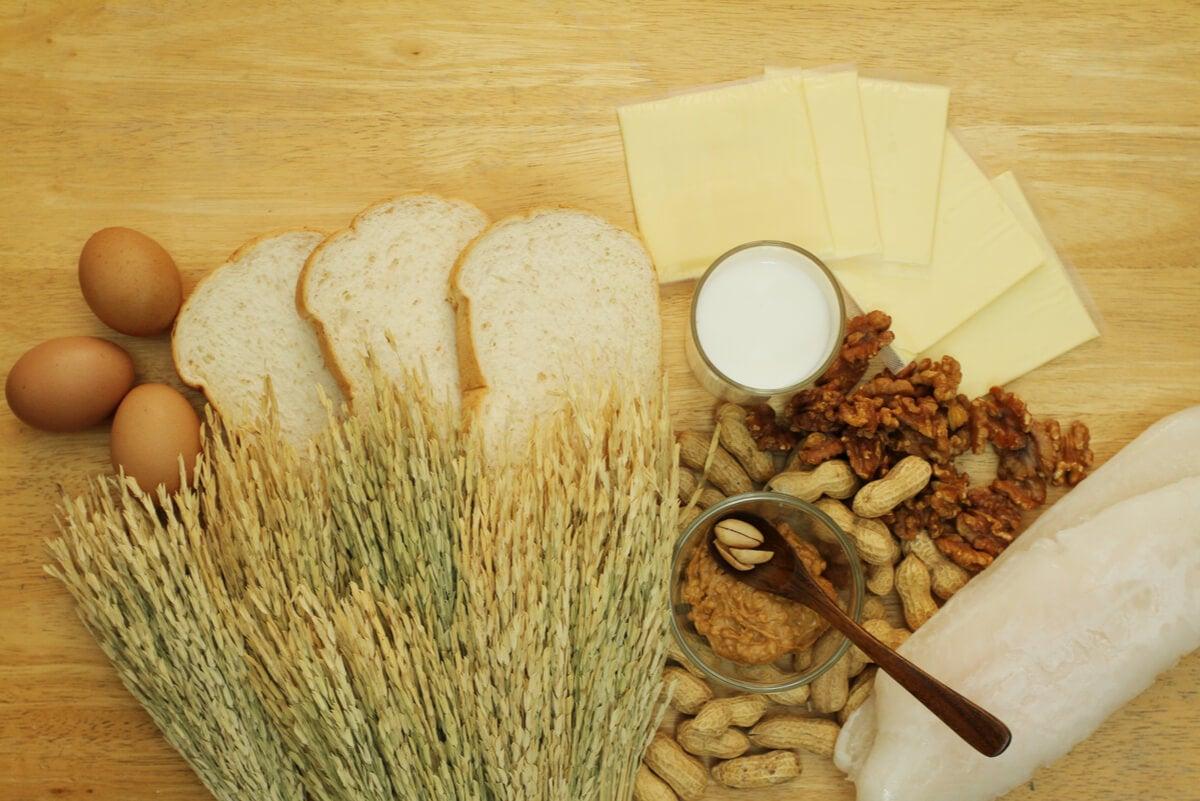 Alimentos que causan alergia.
