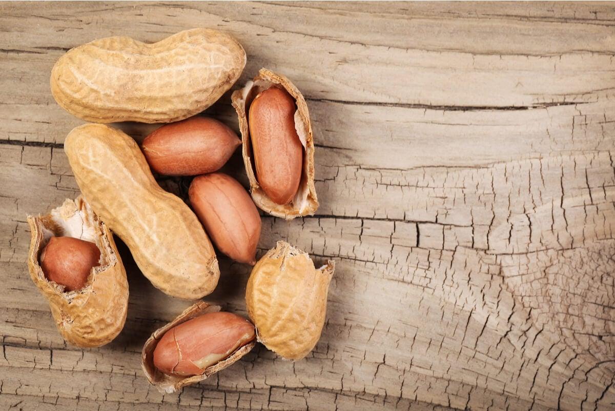 Los cacahuates son ricos en proteínas.