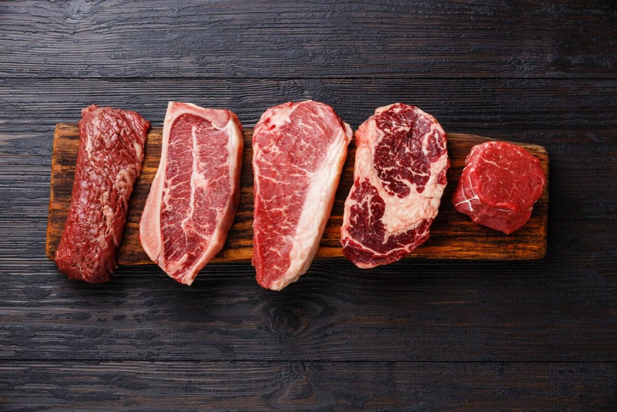 Carnes proteicas.