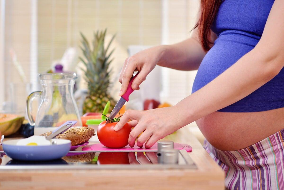 Alimentación en el embarazo.