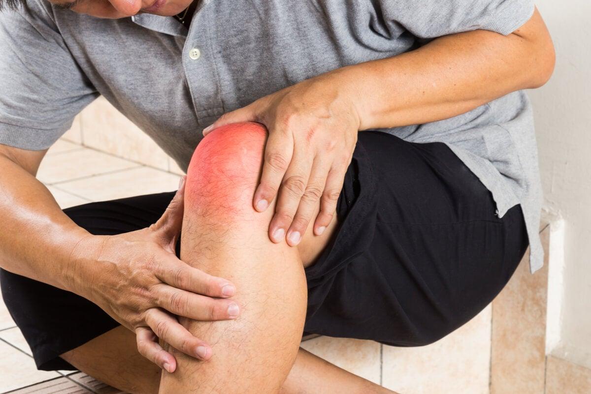 Dolor de rodilla por artrosis.