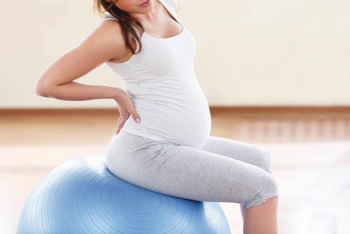 Ejercicios en el embarazo.