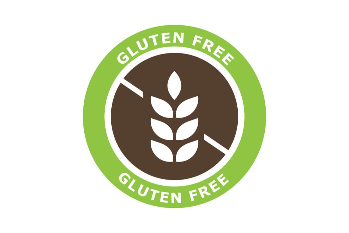 Etiqueta gluten free.