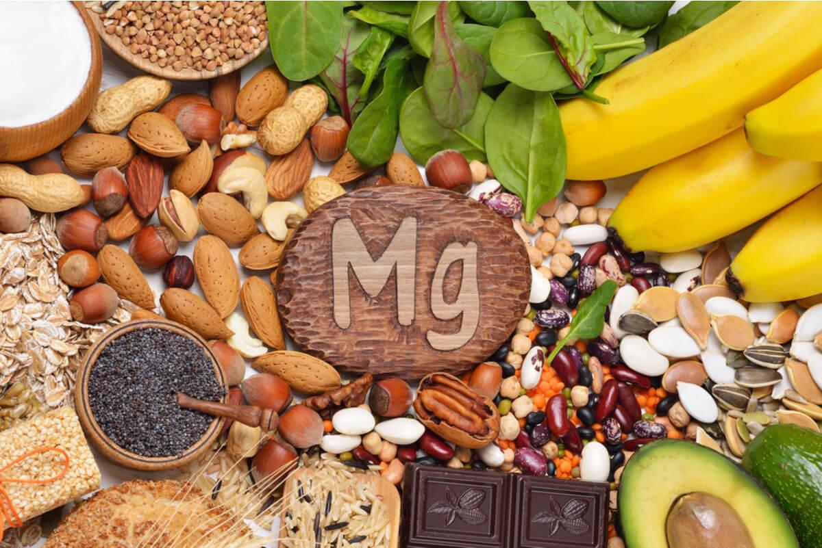 Fuentes alimenticias de magnesio.