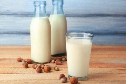 Propiedades de la leche de avellanas