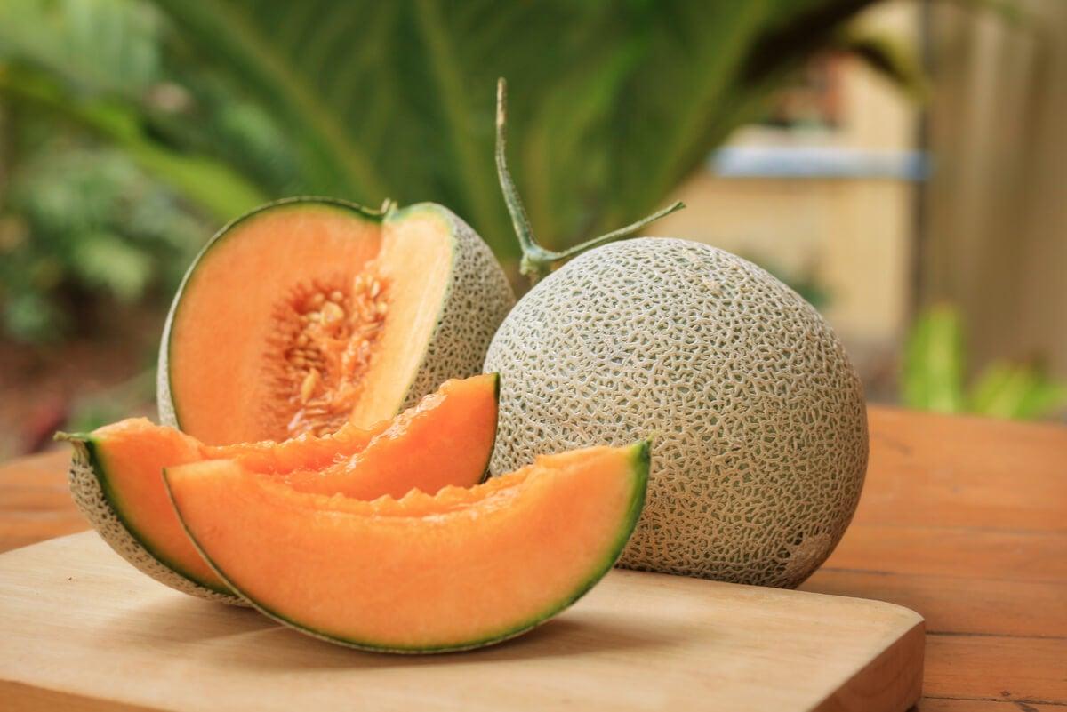 Fruta cortada.