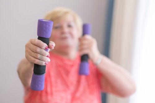 Rutina de ejercicios para personas con la enfermedad de Parkinson