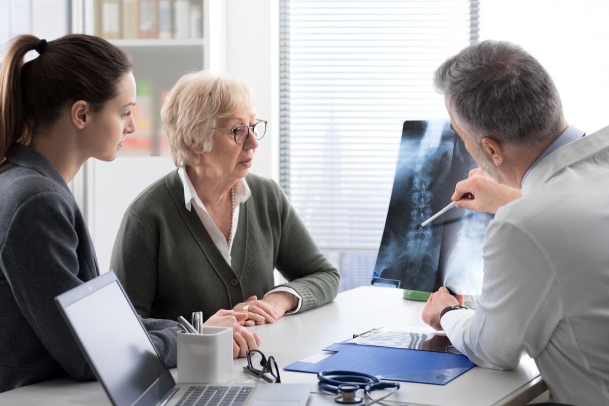 Osteoporosis por síndrome postpolio.