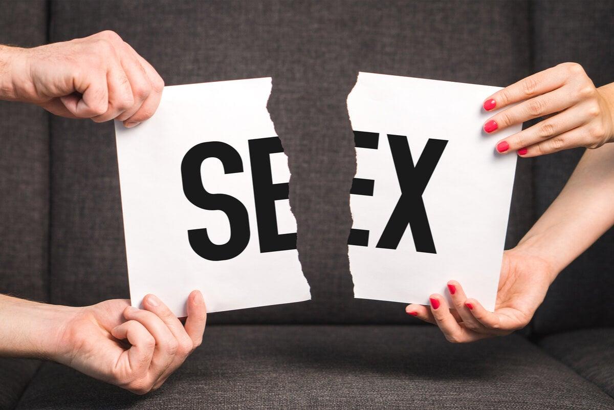 Palabra sexo rota.