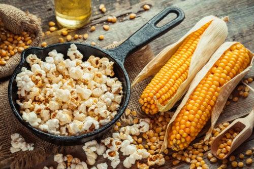 Cómo preparar palomitas de maíz