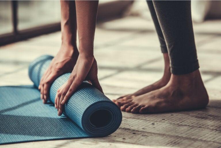 4 ejercicios de pilates para principiantes