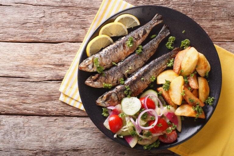 3 principales beneficios de las sardinas