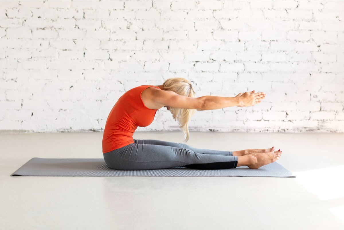 Spine strecht en pilates
