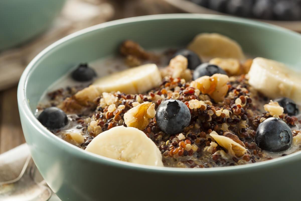 Cereales para el desayuno con fibra.