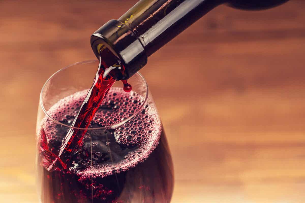 Alergia al vino.