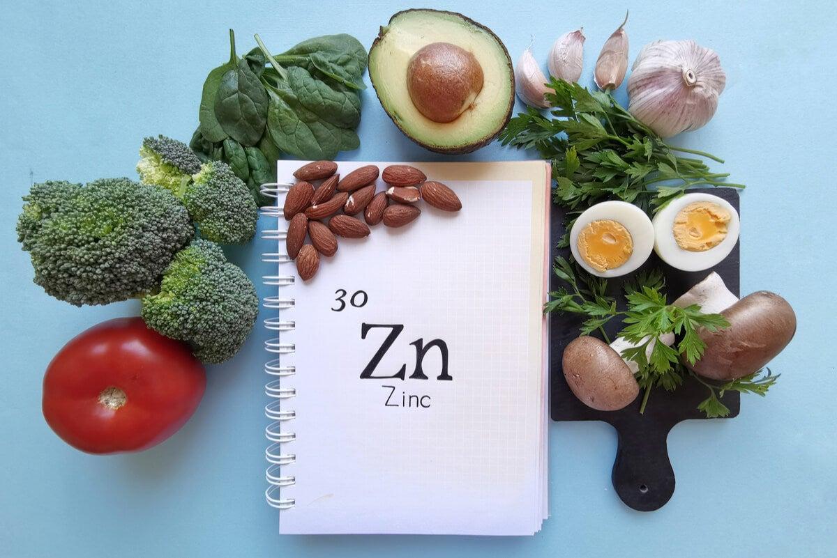 Funciones del zinc en el organismo