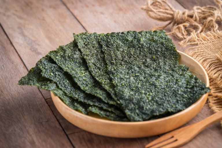 Algas nori: propiedades, beneficios y usos