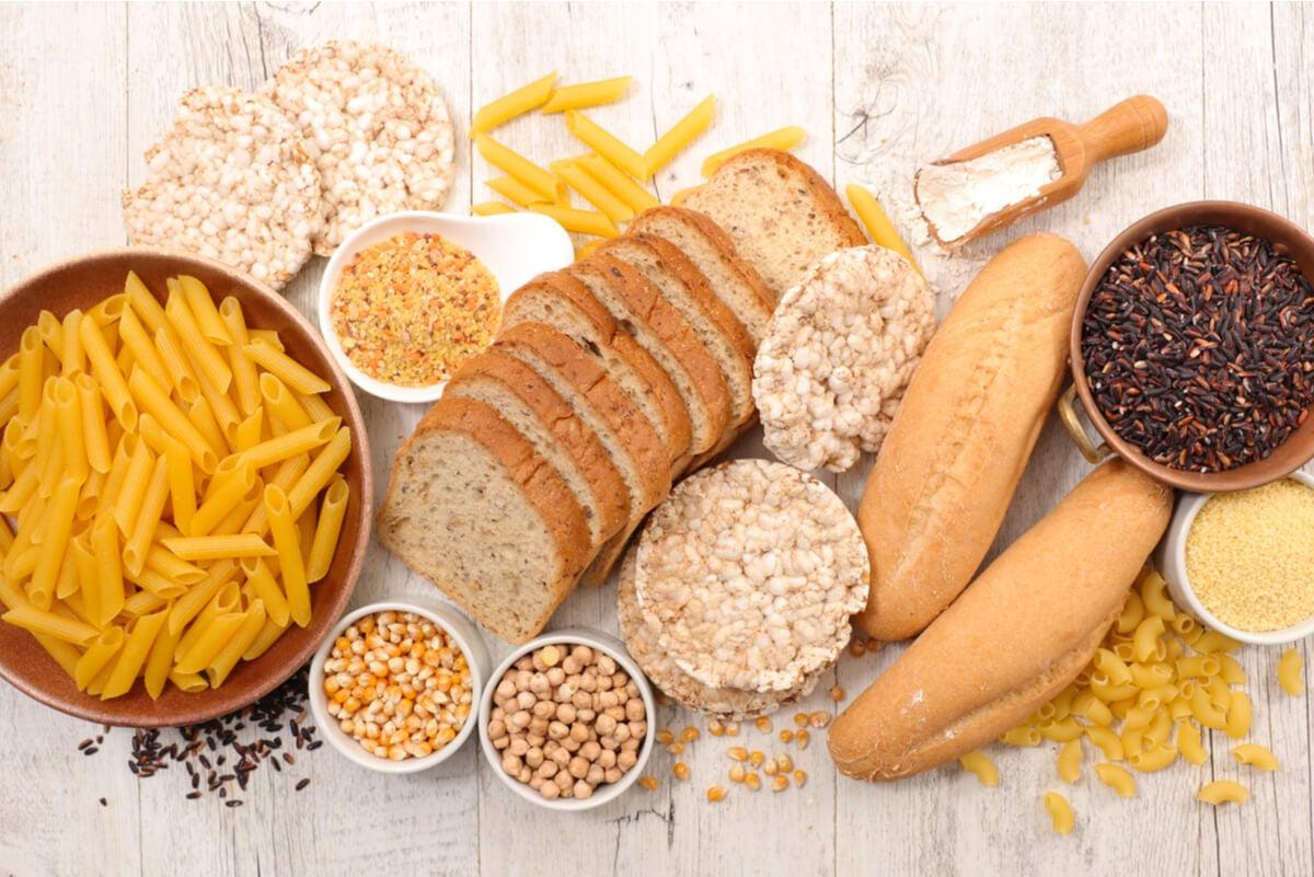 Alimentos para enfermos de celiaquía.