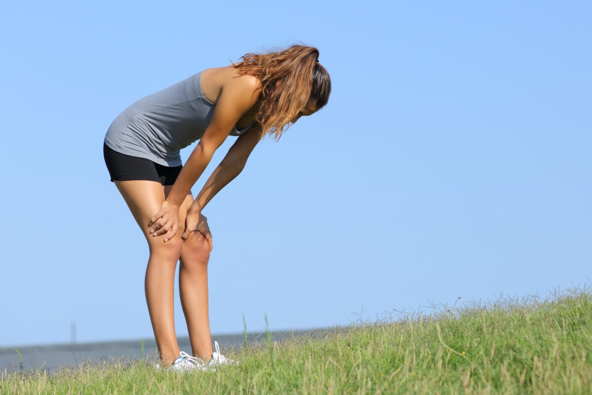 Debilidad muscular por ejercicio físico.