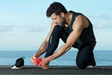 Cuidados para un esguince en el dedo gordo del pie