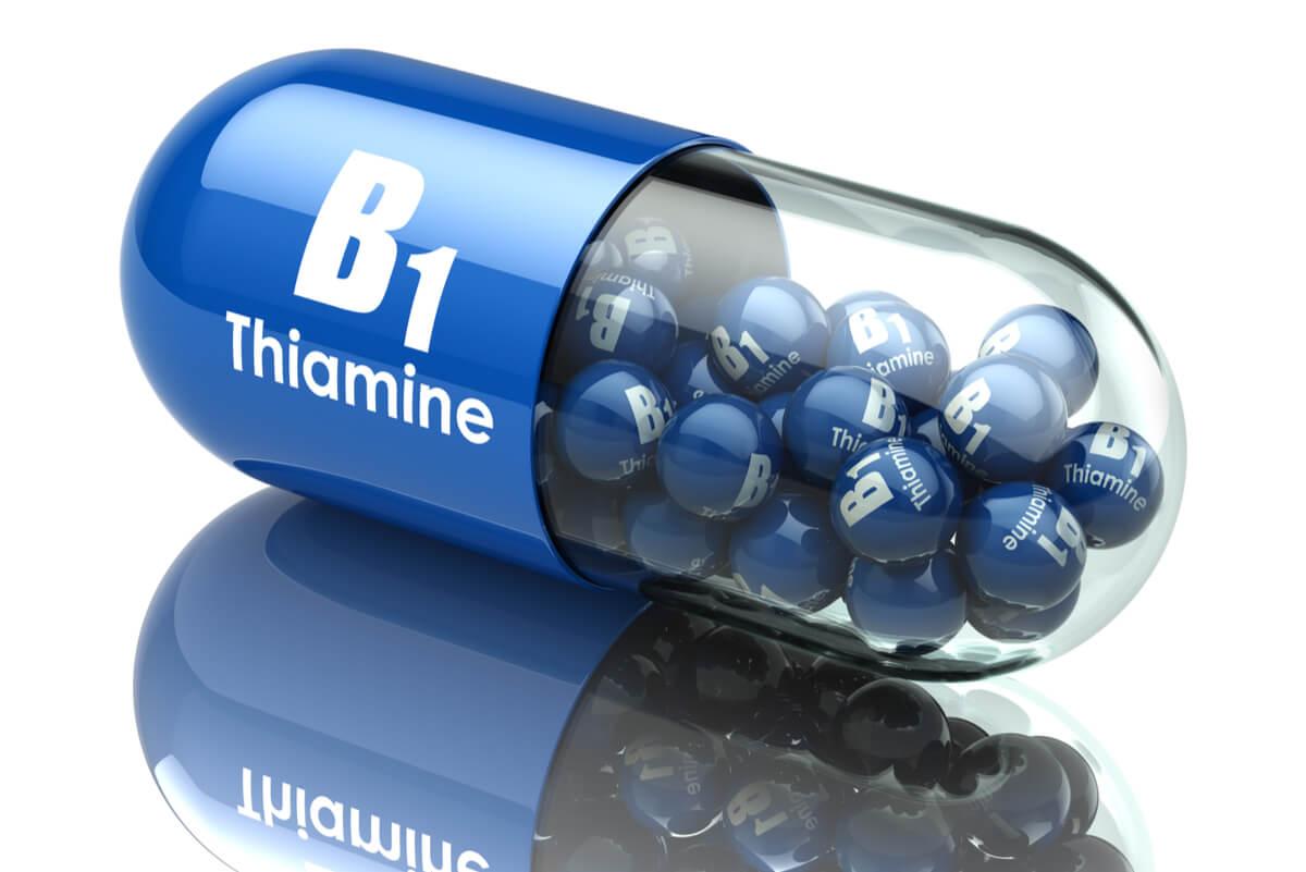 Compuestos comerciales de tiamina.