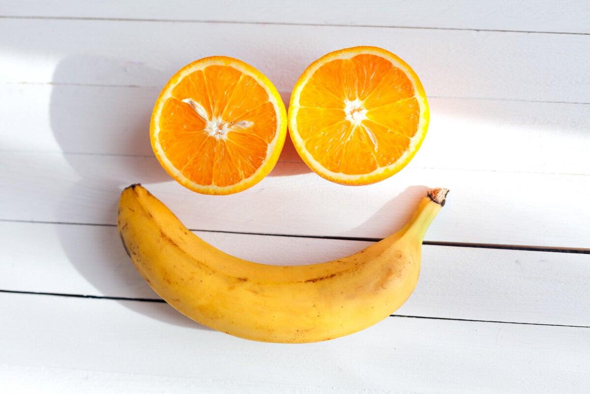 Frutas para la felicidad.