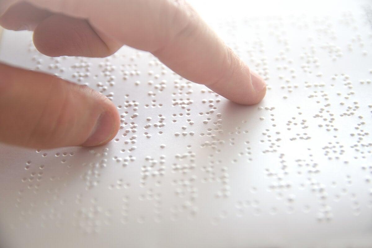 Lectura con método braille
