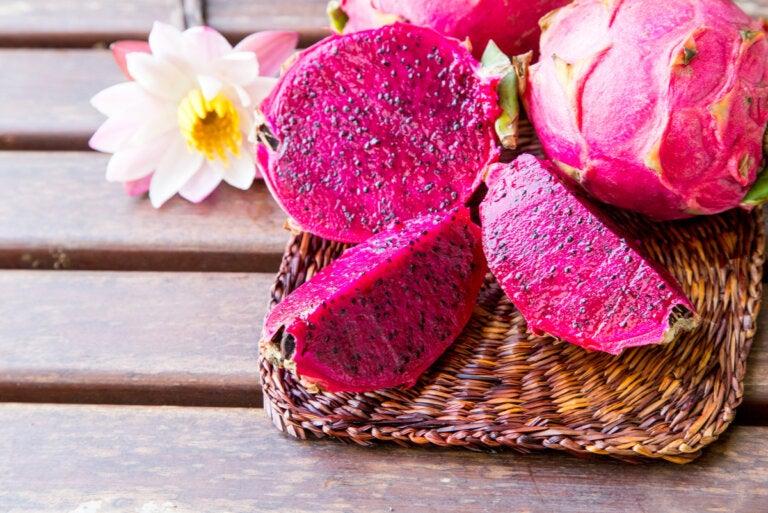 Pitaya, la fruta exótica rosa