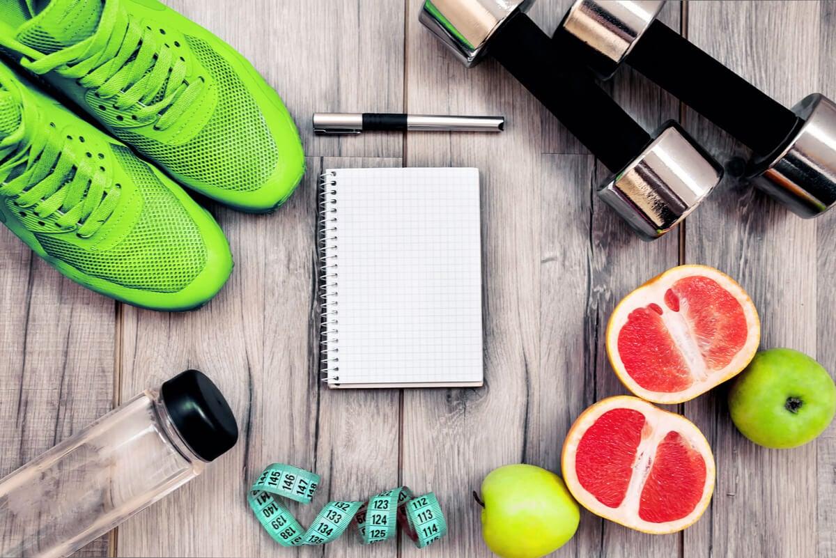 Dieta para el ejercicio.