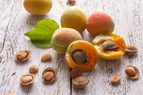 ¿Qué se sabe sobre las semillas de albaricoque?