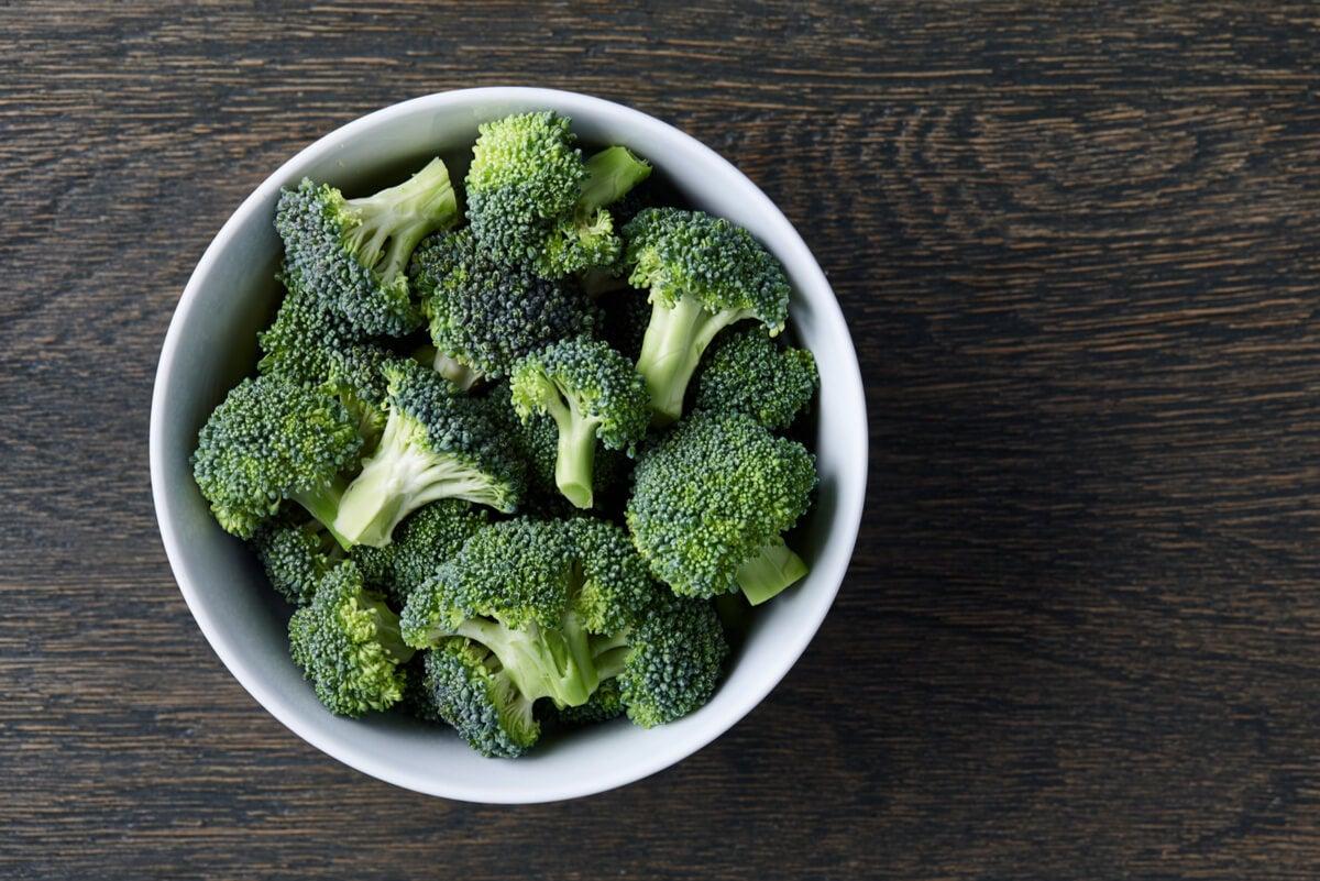 Tazón de brócoli.