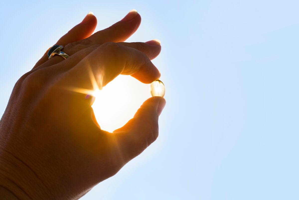 Luz solar como fuente de vitamina D.